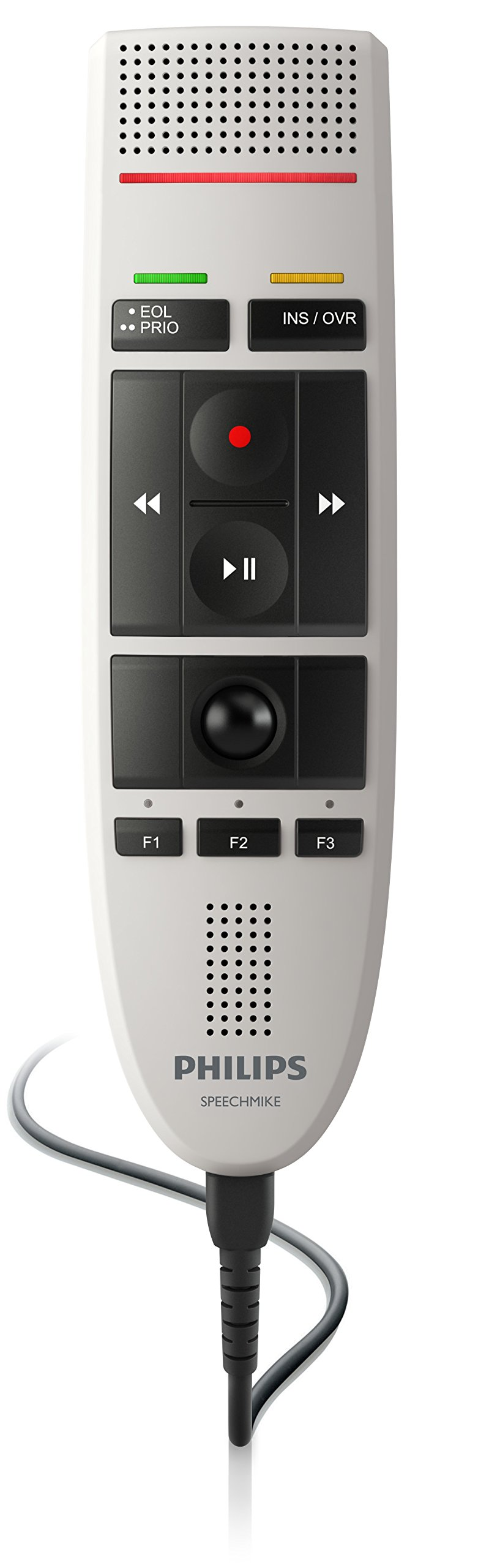 Philips LFH3200 SpeechMike III Pro (Push Button Operation) USB Professional PC-Dictation Microphone by Philips