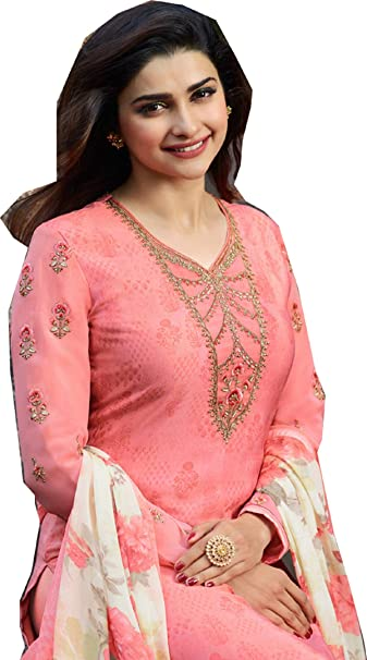 Amazon.com: London Collection Prachi Desai Royal Crape ...
