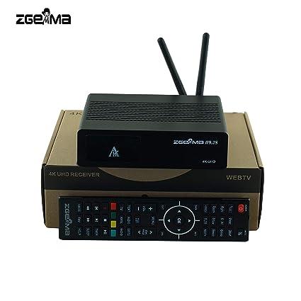 Genuine ZGEMMA H9 2S with 2*DVB-S2X Multistream tuner 4K UHD 2160p Twin  Tuner Satellite Receiver WIFI Built-in