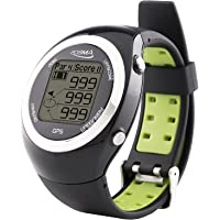 POSMA GT2 Golf Trainer + Activity Tracking GPS Golf Watch Range Finder, Preloaded Golf Courses, no download
