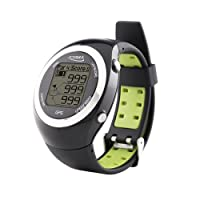 POSMA GT2 Golf Trainer + Activity Tracking GPS Golf Watch Range Finder, No Download No Subscription, Global courses US