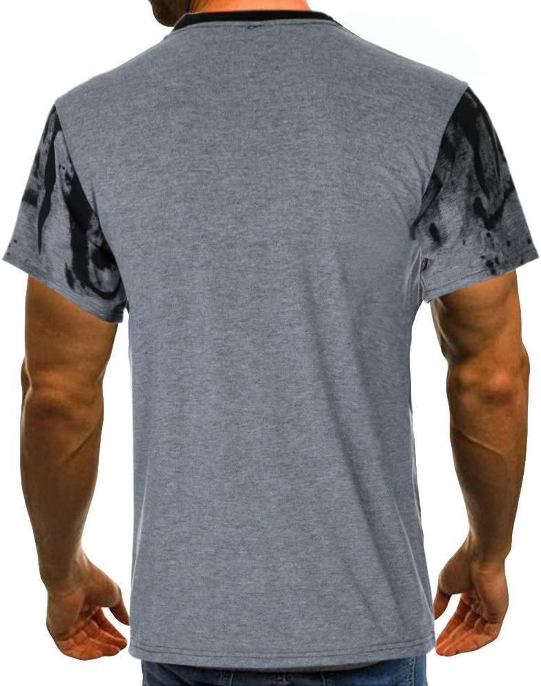 Kneris Basic - Camiseta de verano para hombre, color de manga ...