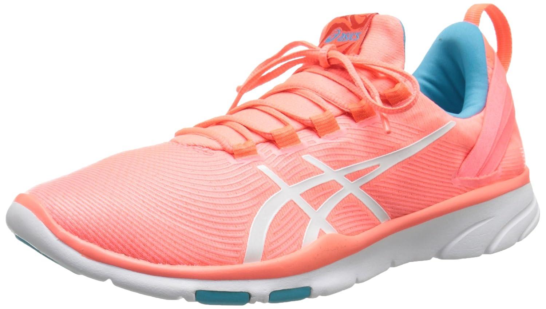 ASICS Women's GEL-Fit Sana 2 Fitness Shoe B00Y1D4YHM 5 B(M) US|Flash Coral/White/Scuba Blue
