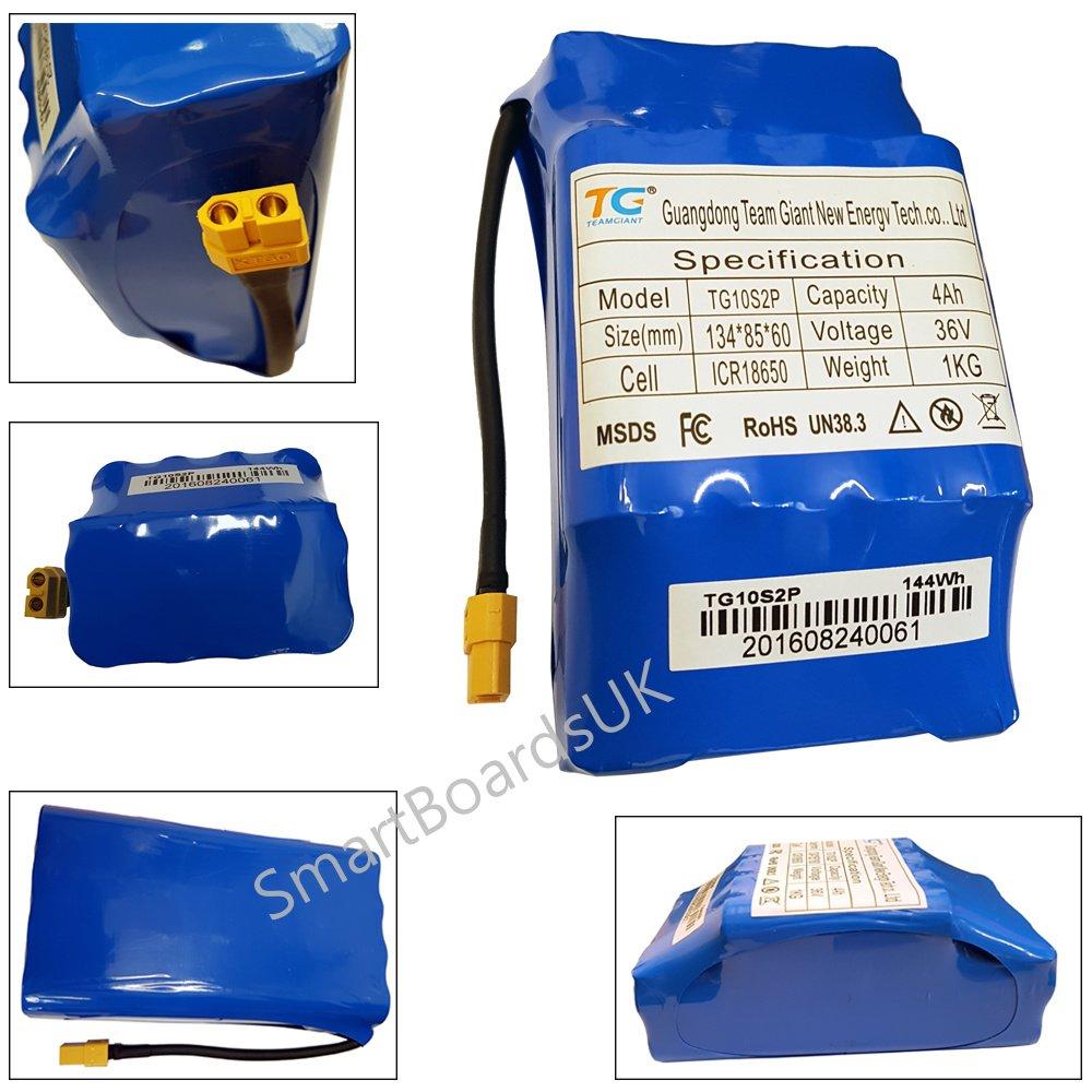 Hoverboard Swegway batteria 36V 4AH auto bilanciamento motorino elettrico