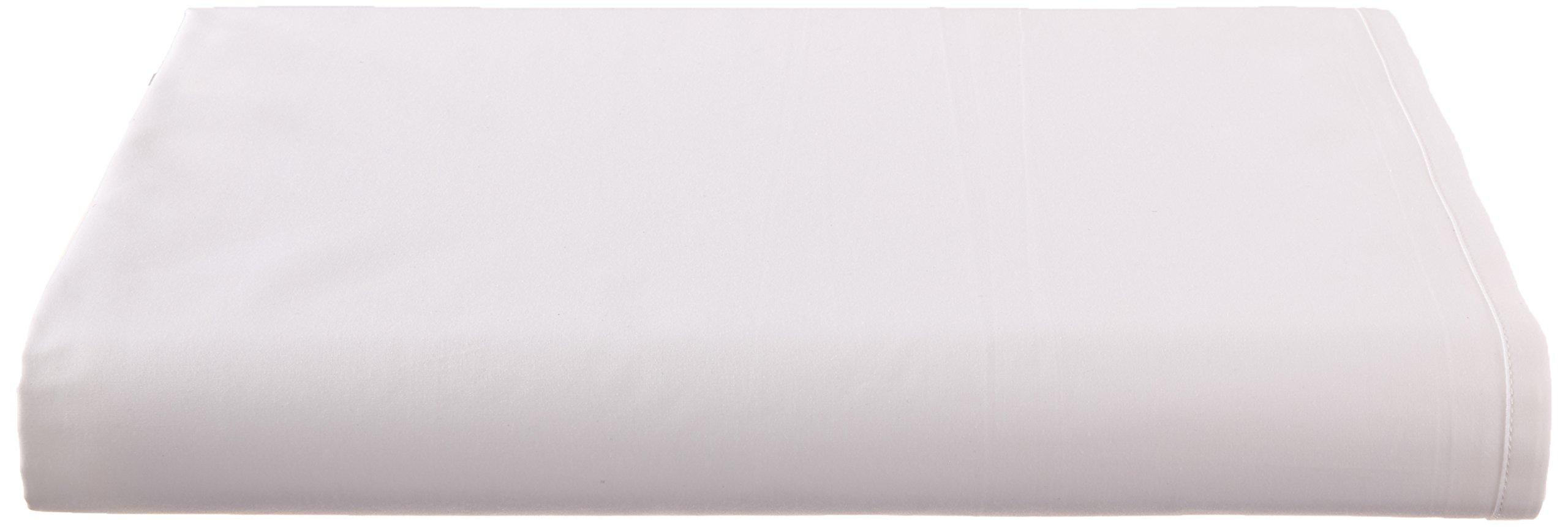 Calvin Klein Home Clone, King Flat Sheet, White by Calvin Klein