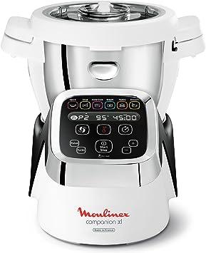 Moulinex HF806E10 - Robot olla multifunción con instrucciones y recetario en Francés: Amazon.es: Hogar