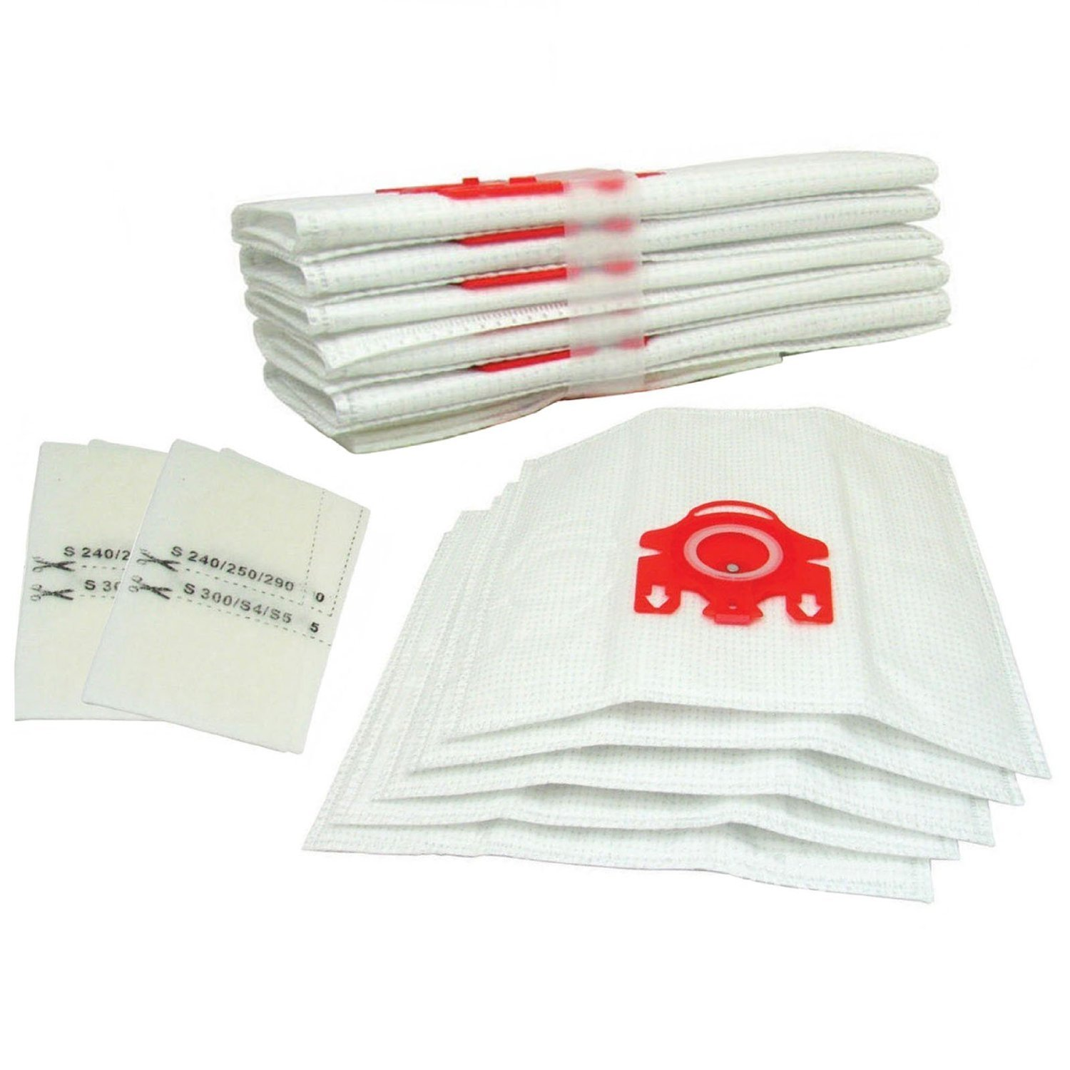 DUST BAGS FOR MIELE CAT /& DOG FJM S6220 PACK OF TEN S6000 SERIES