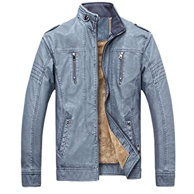 Mens Flight Suit,Men Winter Camouflage Thickening Coat Outwear Top Plus Size,Faux Fur