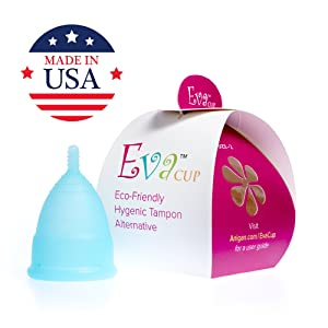 Best Menstrual Cups: The Anigan EvaCup Menstrual Cup, Top-Quality, Reusable Menstrual Cup
