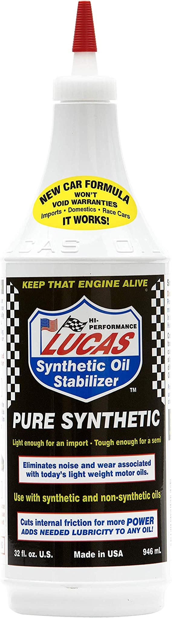 LUCAS LUC10130 Synthetic Oil Stabilizer