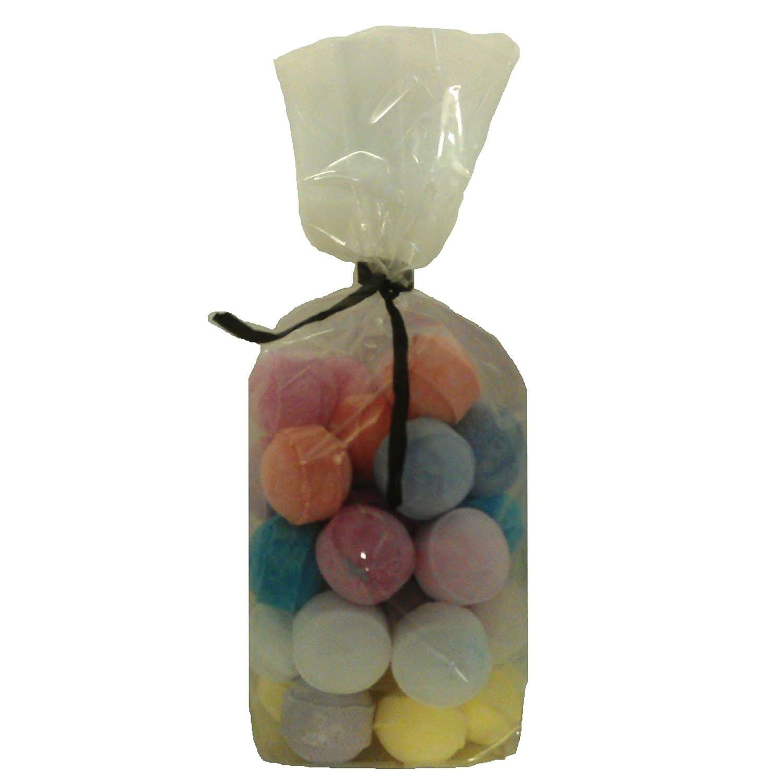30 x Random Scented Bath Marbles Fizzers Mini Bombs (10g Each) Free Gift Bag Bath Bubble & Beyond