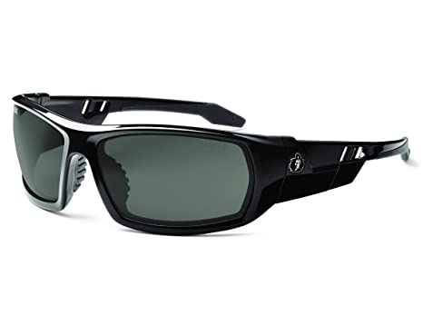 03a824560f2 Image Unavailable. Image not available for. Color  Ergodyne Skullerz Odin  Polarized Safety Sunglasses - Black Frame ...