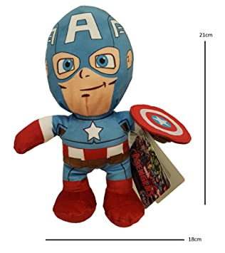 Amazon.es: Marvel Avengers Peluche Capitán América (Se ...