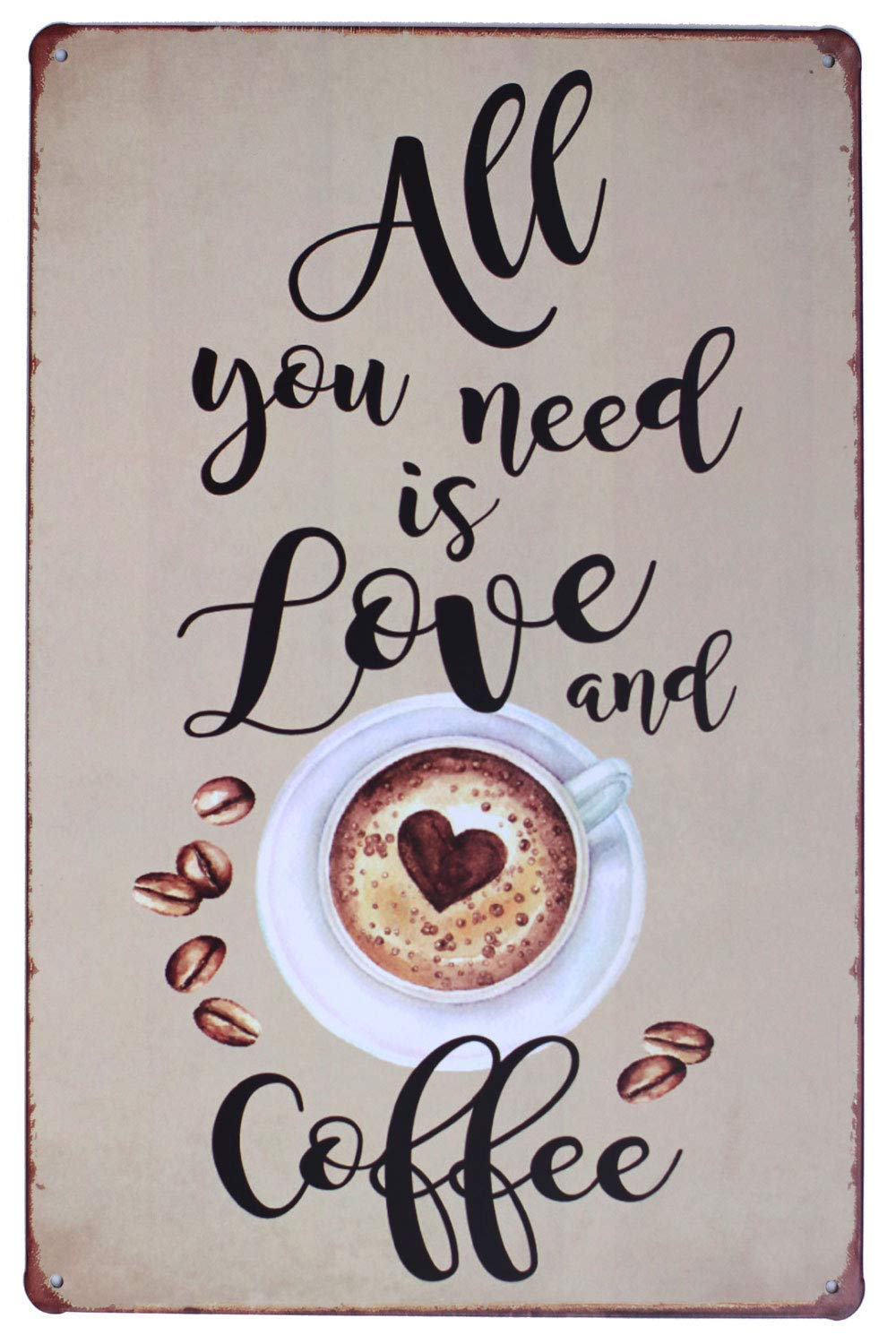 Sumik All You Need is Love and Coffee - Cartel de Metal ...