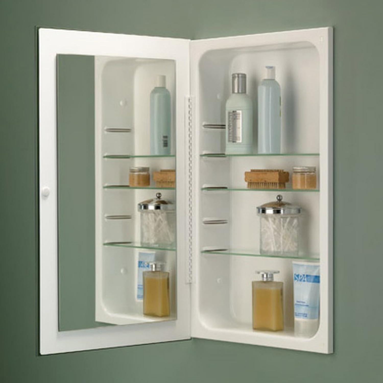broannutone pwhg cove singledoor recessed medicine cabinet  - broannutone pwhg cove singledoor recessed medicine cabinet whitebaked enamel finish amazoncouk diy  tools
