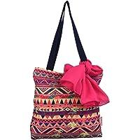 Nostaljia Girl's Tote Bag (Mulitcolor, 001Ntt042)