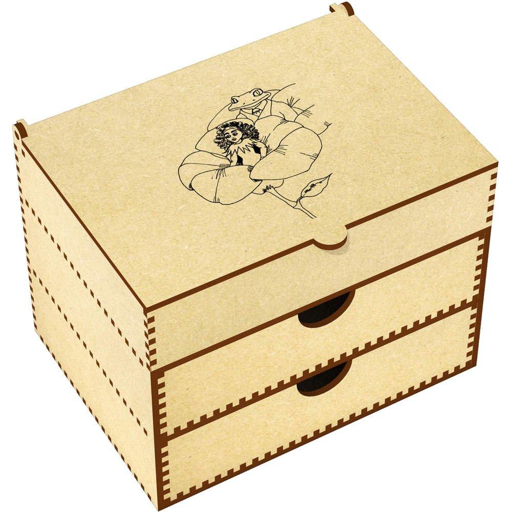 Azeeda 'Thumbelina & Frog' Vanity Case / Makeup Box (VC00005873)
