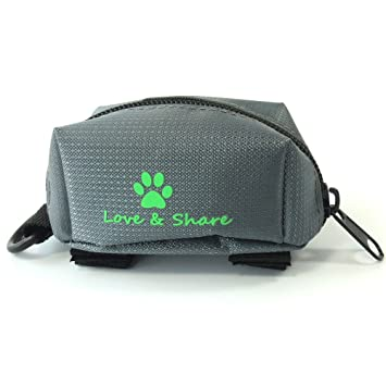 Dxlta Mini viaje Bolsa de basura Para Excremento de perro mascota, Rechazar con cremallera Poop Waste Bolsas de Scoop