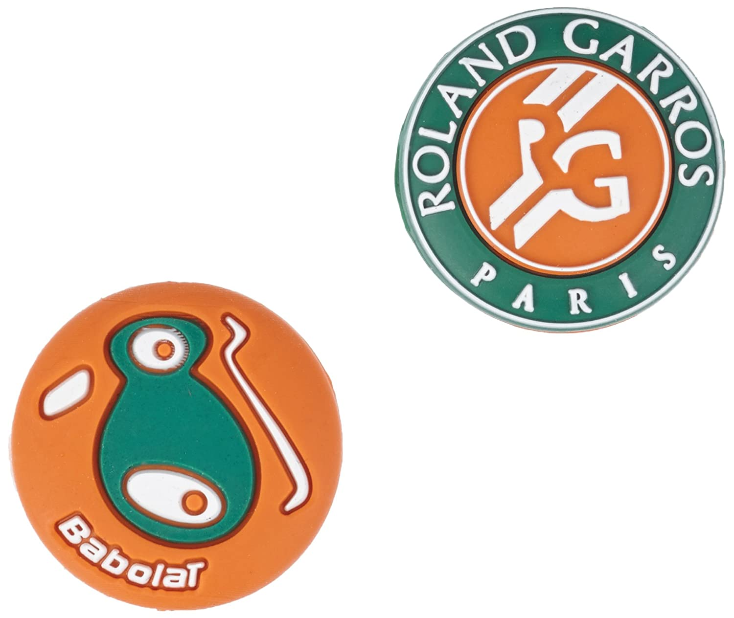 Babolat Antivibrateurs Loony Damp French Open Logo Roland-Garros - Terre battue 700036-134