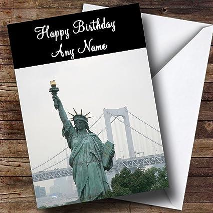 America de Estatua de la libertad de la Estatua de la de Nueva ...