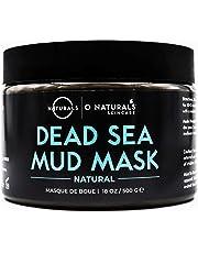 O Naturals Best Acne Treatment Pore Reducing Dead Sea Mud Mask for Face & Body. Oily Skin Blackhead Remover Vacuum, Deep Pore Cleansing & Minimizer Healing Exfoliating Tightens Skin. w/Aloe Vera. 500g