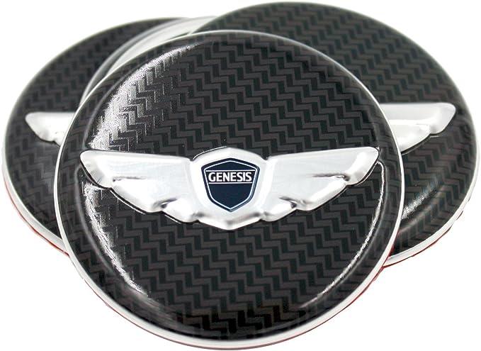 Steering Wheel Cap Emblem Horn Cap Emblem for Hyundai GENESIS Coupe w//Tracking