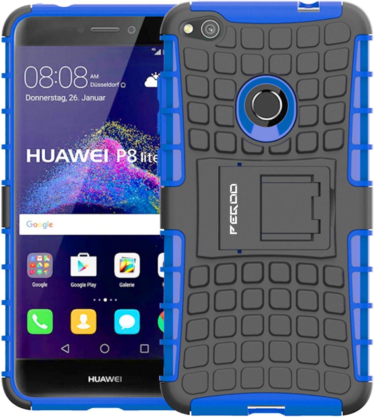 Funda Huawei P8 lite 2017,Pegoo Proteccion Cover Case para Huawei P8 lite 2017 (Azul): Amazon.es: Bricolaje y herramientas