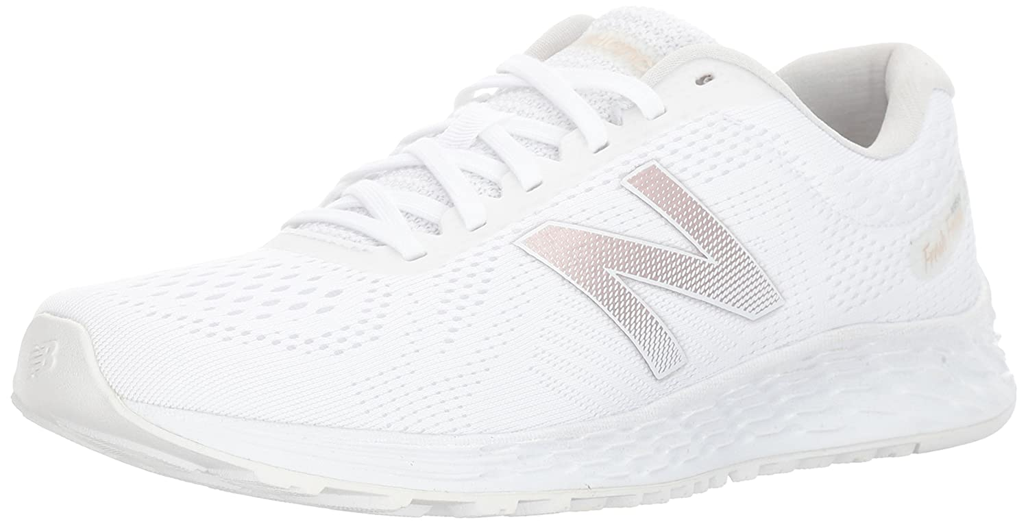 New Balance Women's Fresh Foam Arishi V1 Running Shoe B01MQUDHF6 7.5 D US|White
