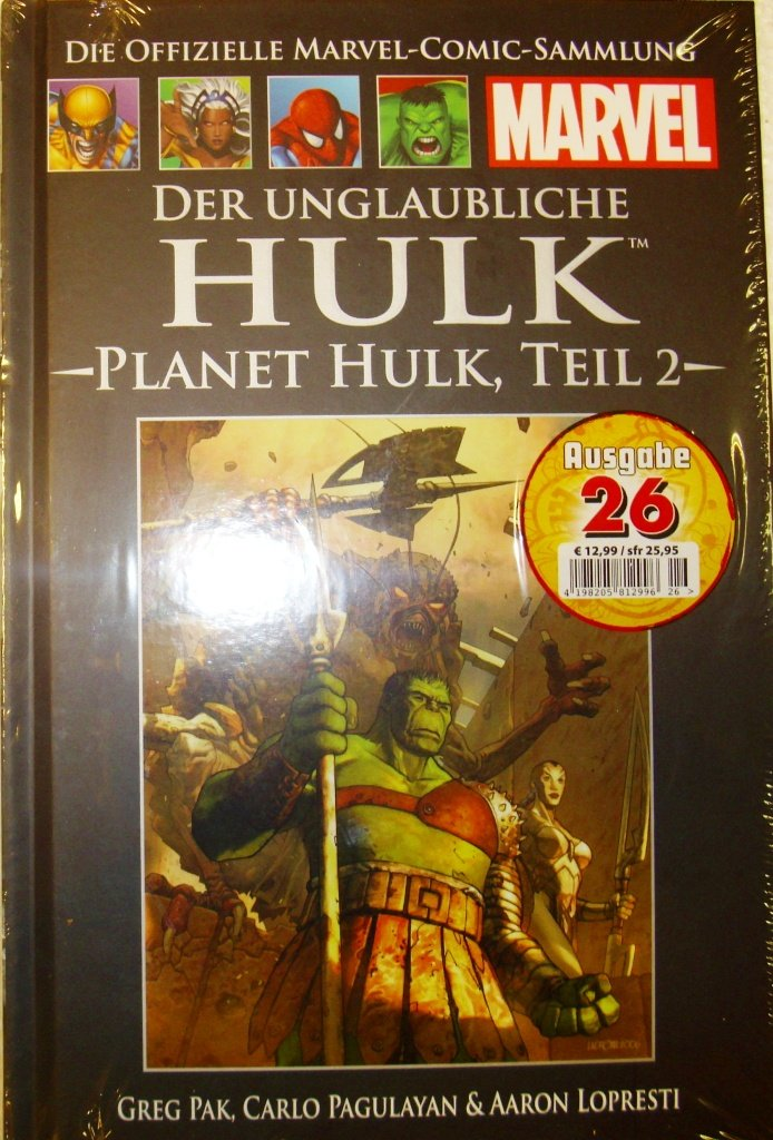 Die offizielle Marvel-Comic-Sammlung 46: Der unglaubliche Hulk - Planet Hulk Teil 2