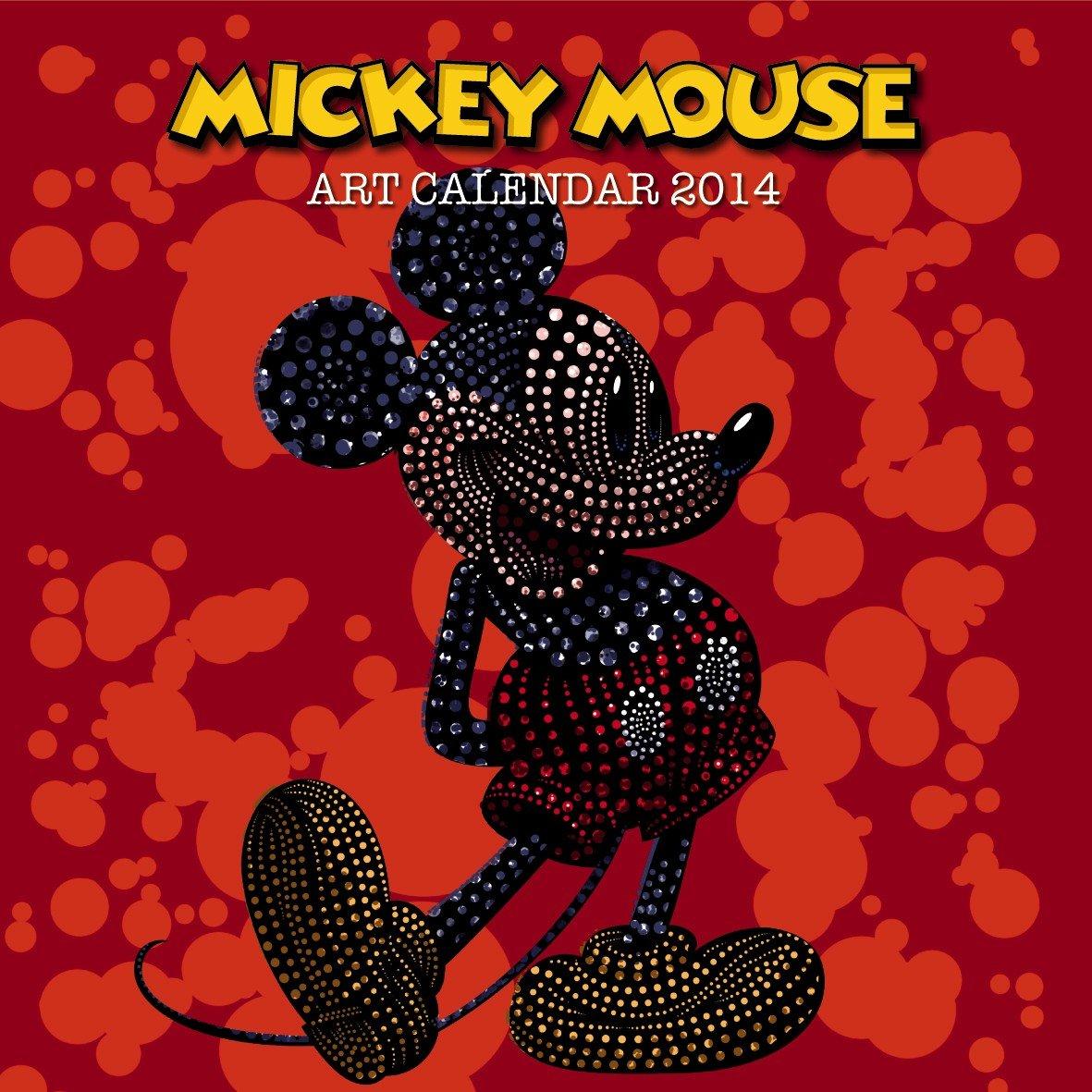 Mickey Mouse Art Calendar 2014 Broschürenkalender