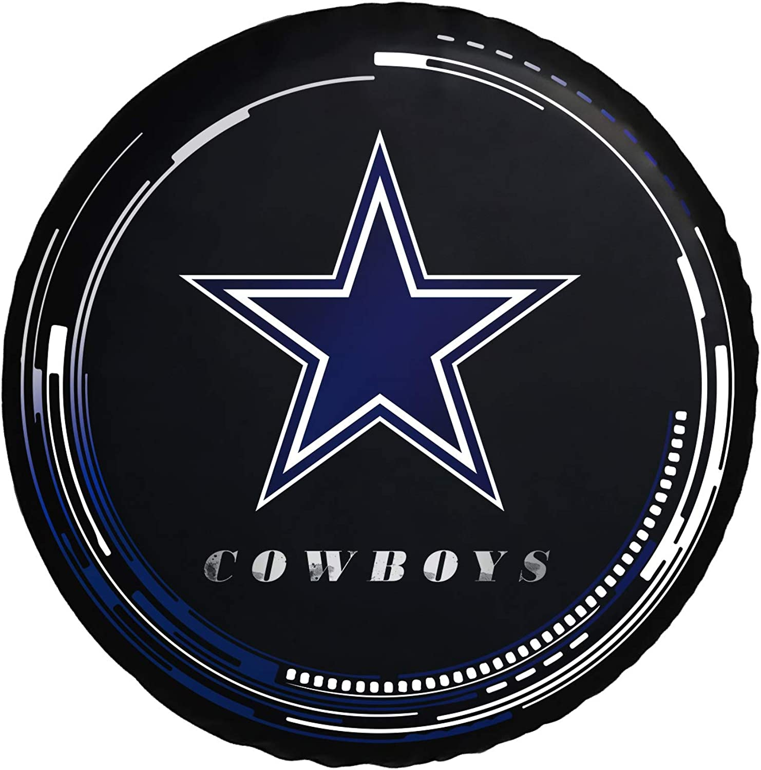 CANDICE Football Team Logo Tire Cover Waterproof Dustproof Universal Wheel Tire Protection Cover