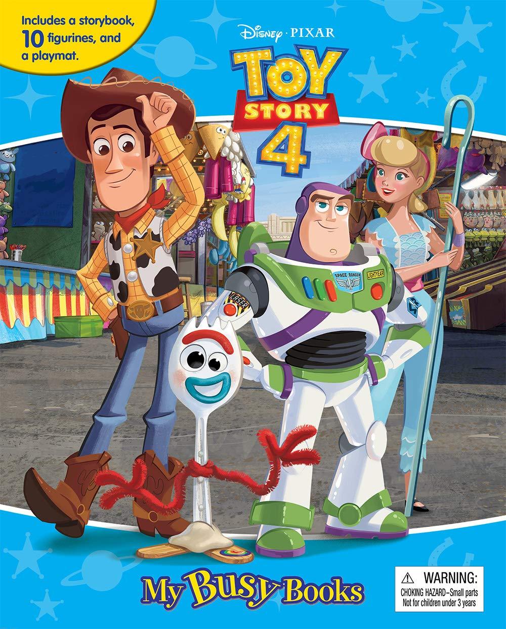 Disney Toy Story 4 My Busy Books Phidal Publishing Inc