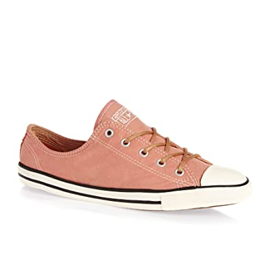 fb732d61f2e7 Converse 553418 °C Dainty Womens Trainers Peached Canvas Pink Blush Biscuit  Egret Pink