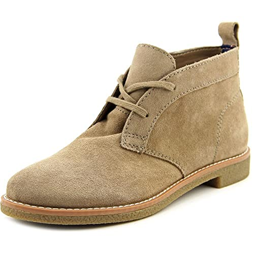 646e0936f Tommy Hilfiger Blaze Women US 8.5 Brown Chukka Boot  Amazon.co.uk  Shoes    Bags