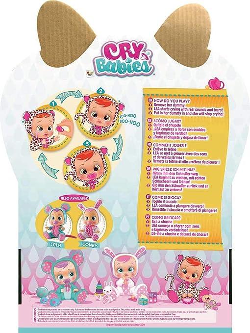 IMC Toys Muñeca Bebés Llorones, Lea (10574)