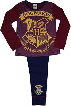 Hogwarts para ni/ño Pijama Dos Piezas Harry Potter