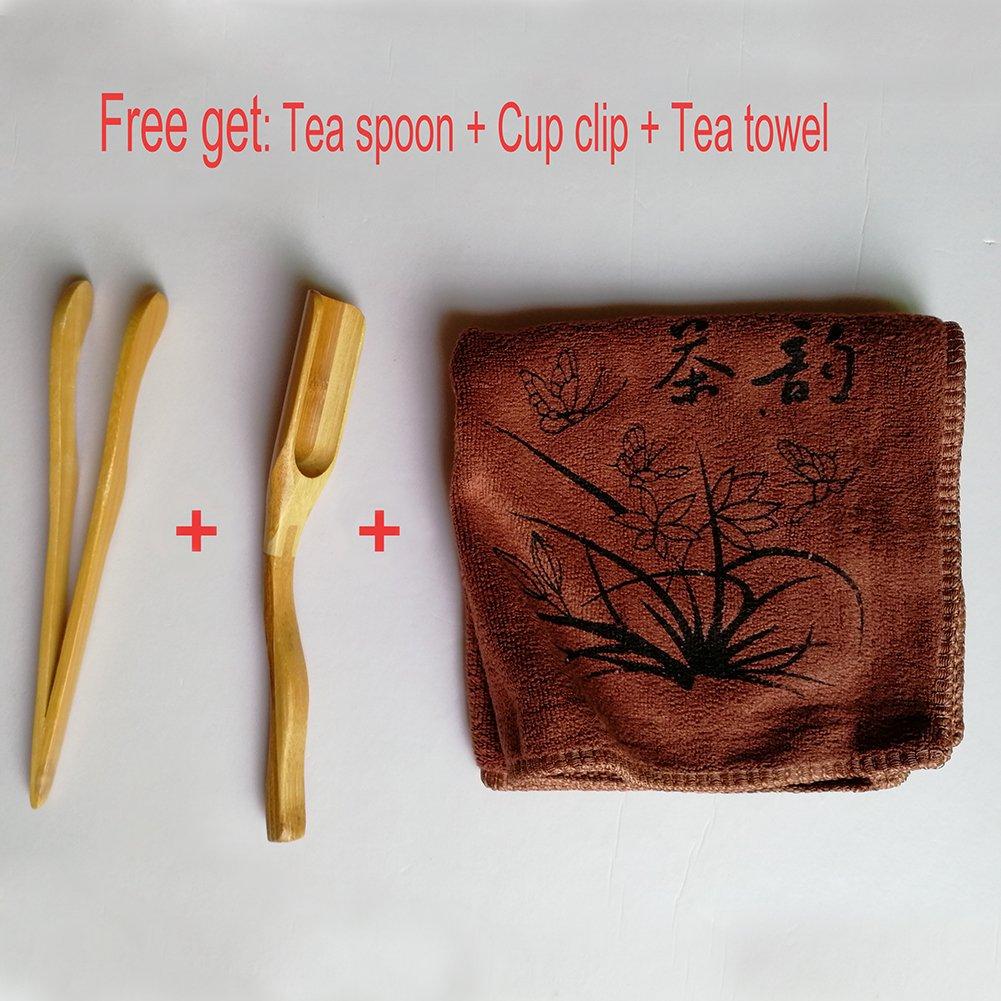 Hoobar Reservoir Type Bamboo Tea Tray - Chinese Kungfu Tea Table Serving Tray Box for Kungfu Tea Set by JKCOM (Image #4)