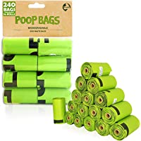 SWIPPLY | Dog Poop Bags supply | 16 Rolls With 240 Waste Bag For Dogs & Cats | Outdoors Kitty & Puppy Biodegradable Bag…