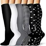 Copper Compression Socks Women & Men - Best for Circulation,Running,Sports,Hiking,Flight Travel