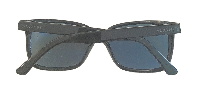 Amazon.com: Vuarnet anteojos de sol VL 1302 0001 acetato ...