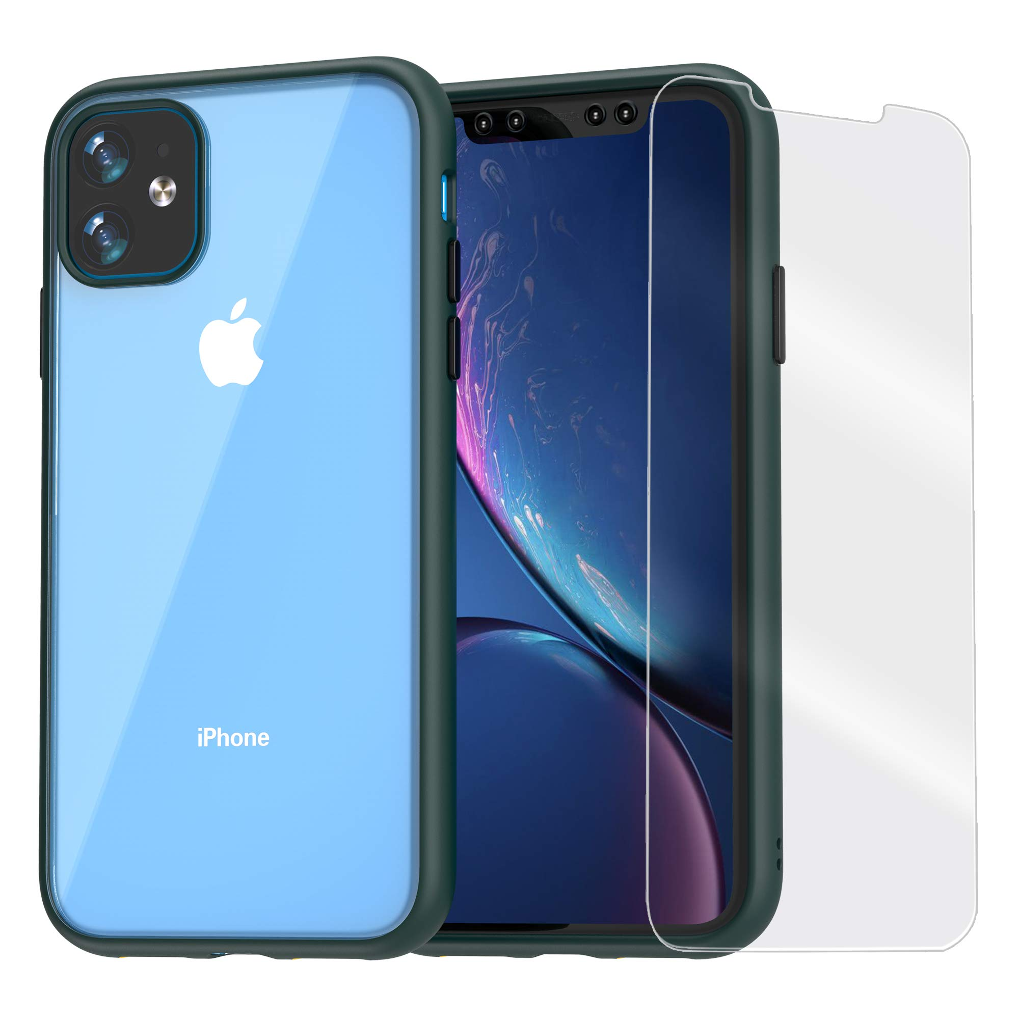 Funda + Vidrio Iphone 11 AMOSRY [7WZK4WWK]