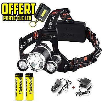 Frontale Lampe TrailÉclairage Lumière Led Rechargeable Vtt Running CourseRandonnée Ou Ultra PuissanteTorche Nw8OPXn0k