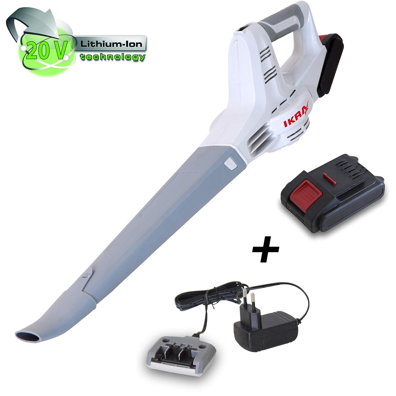 IKRA 74002510 IAB 20-1 - Soplador de hojas con batería (20 V ...