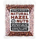 Gorilla Food Co. Natural Hazelnuts Whole Raw - 800g