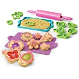 Real Cooking Deluxe Cookie Baking Set - 25 Pc. Kit Includes Sprinkles, Candy, and Mixes