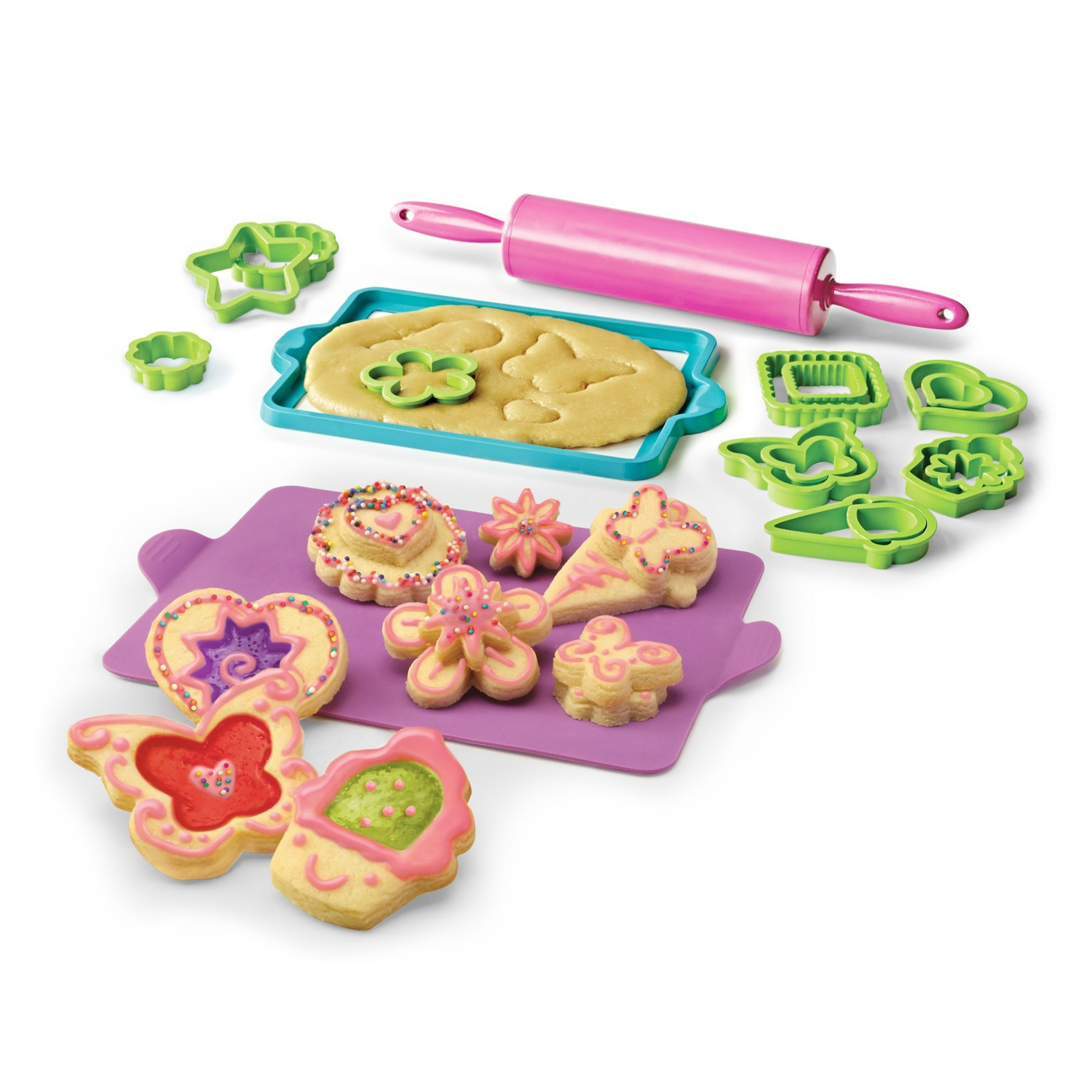 Skyrocket Real Cooking Deluxe Cookie Baking Set - 25 Pc. Kit Includes Sprinkles, Candy, and Mixes by Skyrocket