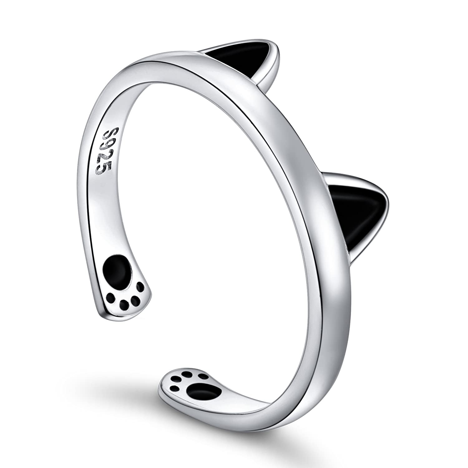 S925 Sterling Silver Cat...