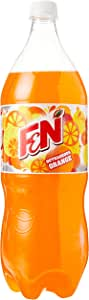 F&N Sparkling Flavoured Drink Outrageous, Orange, 12 x 1.5L