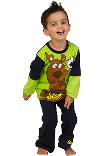 e2544aa104 Scooby Doo Yikes Pyjamas 3 4 5 6 7 8 9 Years Scooby Pyjamas Scooby Pjs  Green (3-4 Years)  Amazon.co.uk  Clothing