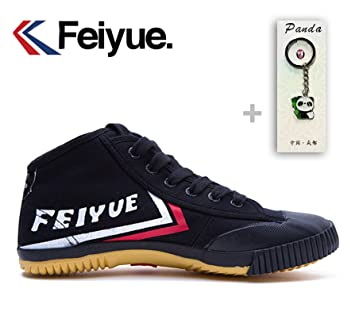 TOP Feiyue503 High Top Martial Arts Kung Fu Pakour Canvas Shoes
